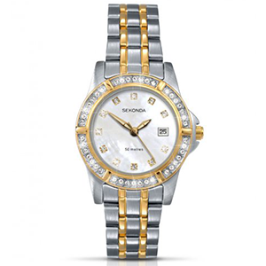 For A Time Piece That Shines As Bright Her This Sekonda Twilight Pearl Watch Is The Ideal Gift Featuring An Authentic Quartz Movement Stunning White