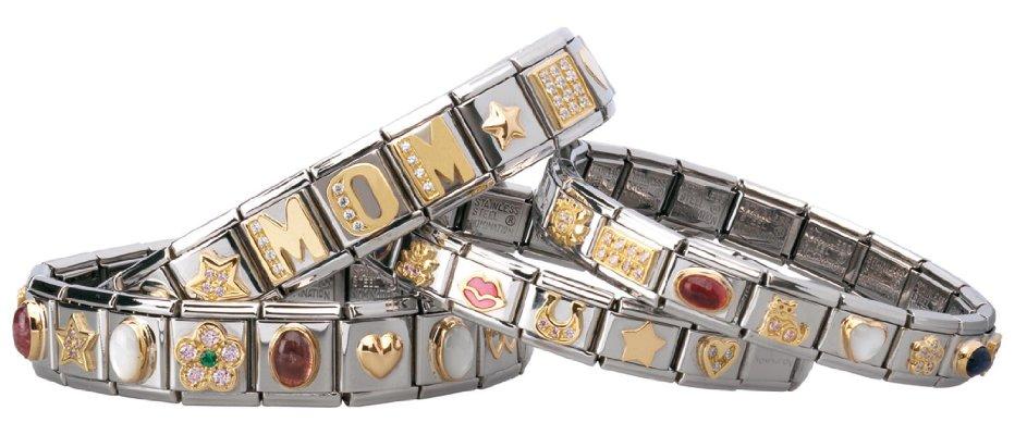 nomination bracelets tell your story with nomination. Black Bedroom Furniture Sets. Home Design Ideas