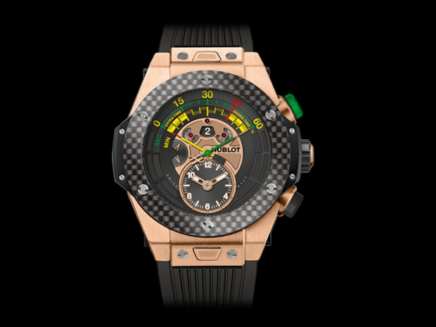 A Hublot that is paying tribute to this years FIFA World Cup in Brazil
