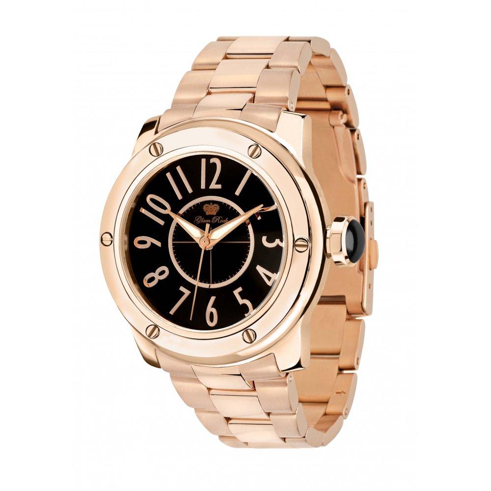 Glam rock ladies aqua rock watch gr50006 market cross jewellers for Aqua marine watches
