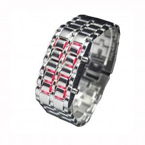 Бинарные часы LED WATCH - Iron Samurai