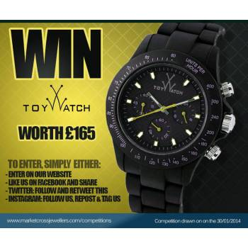 Win A Unisex Toy Watch Worth £165