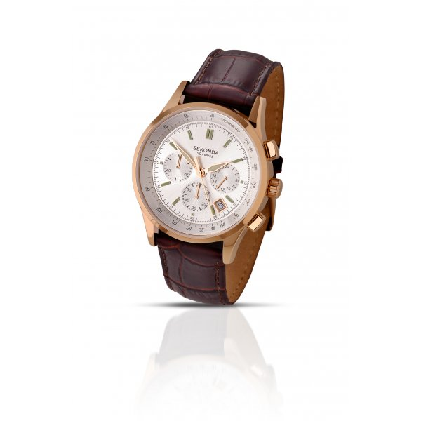 brown fossil chronograph p watches mens watch dial