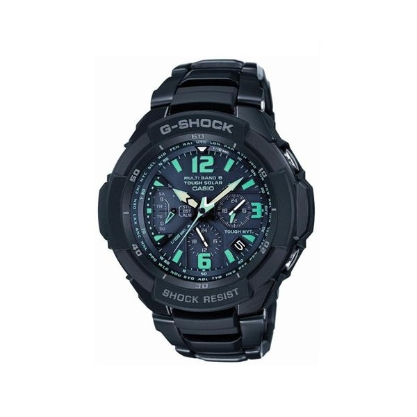 Casio G-Shock Premium Multi Band 6 Solar Chrono Watch GW-3000BD ...