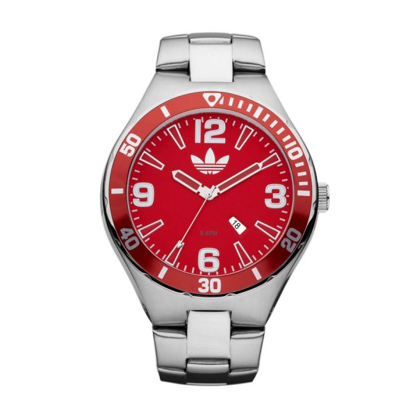 adidas gents stainless steel bracelet and with