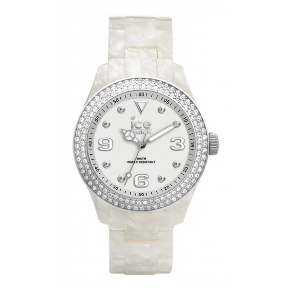 Ice Watch Ice Elegant Mother of Pearl Swarovski Watch - EL.PSR.U.AC | Market Cross Jewellers