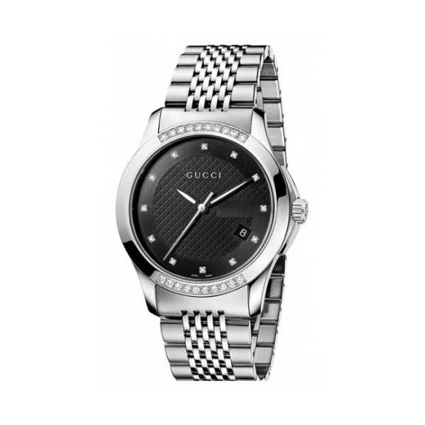 mens gucci ya126408 g timeless diamond watch gucci watches from gucci mens g timeless diamond set watch ya126408