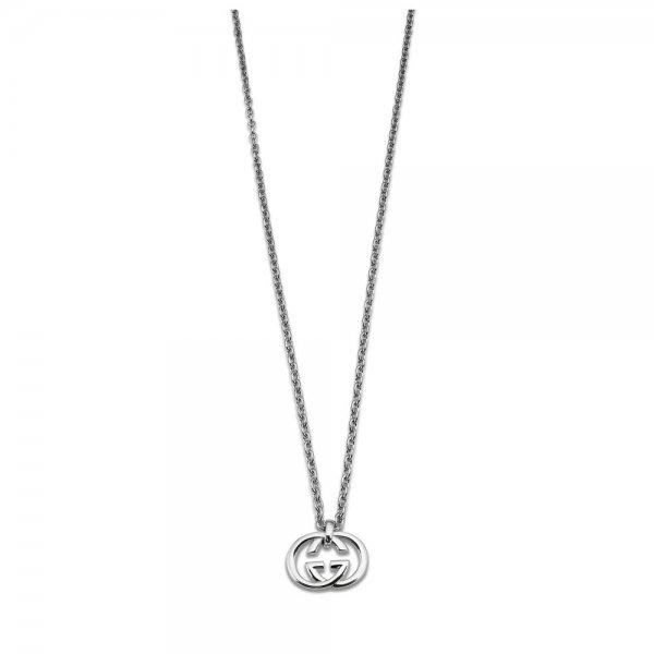 8812700a40f Womens Silver Gucci Britt Necklace YBB190484001