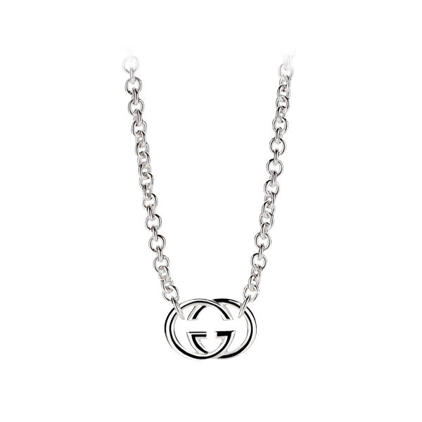 0c9c146f5 Womens Silver Gucci Britt Necklace YBB190489001 | Market Cross Jewellers