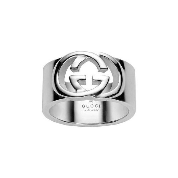 Silver Gucci Britt Ring YBC
