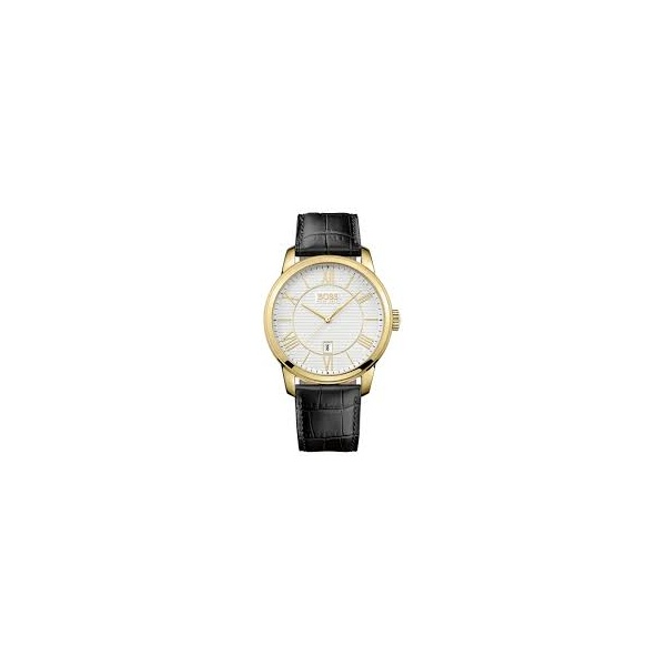 hugo mens pvd gold plated 1512972