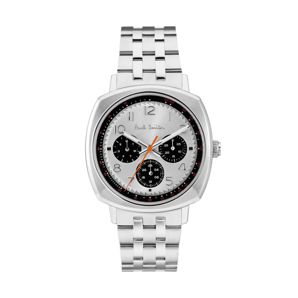 paul smith mens silver black atomic p10044
