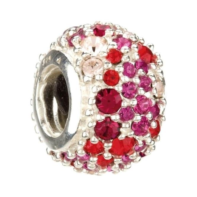 Chamilia Jewelled Kaleidoscope Red Charm JC-6B