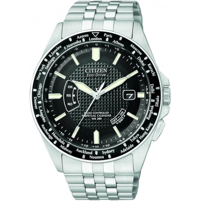 Citizen Mens A.T Eco-Drive Watch CB0020-50E