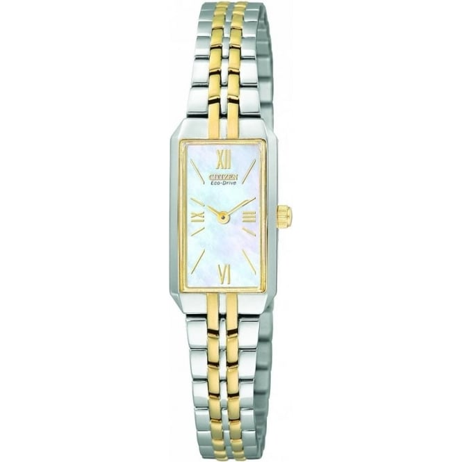 Citizen Ladies Bi-Colour Eco-Drive Watch EG2694-59D