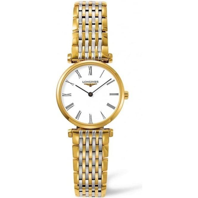 Ladies Two Tone 'La Grande Classique' Watch L4.209.2.11.7