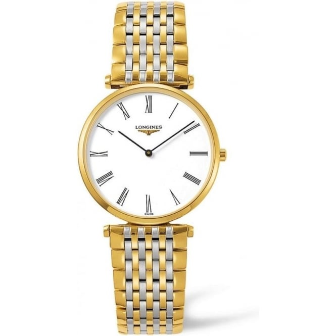 Mens Two Tone 'La Grande Classique' Watch L4.709.2.11.7