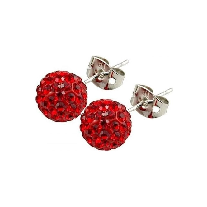 Tresor Paris Saint Remy' Red Crystal Earring - 016012