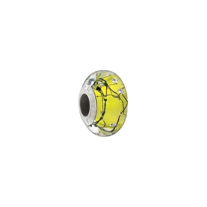 Chamilia City Lights Yellow Steel Charm 2116-0077