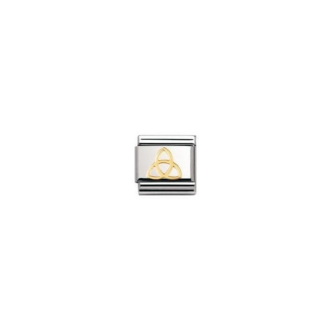 Nomination Classic Gold Trinity Knot Charm 03011904  65a6034dc