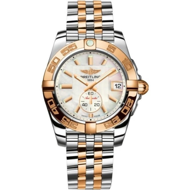 Breitling Galactic 36 Two-Tone Watch A2332U7/BB20