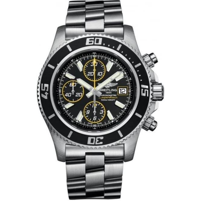 Breitling Mens Superocean Chronograph II Watch A1334102/BA82