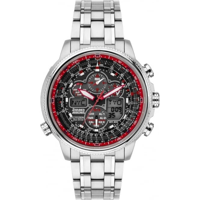 Citizen Mens Red Arrows Navihawk LTD ED JY8040-55E
