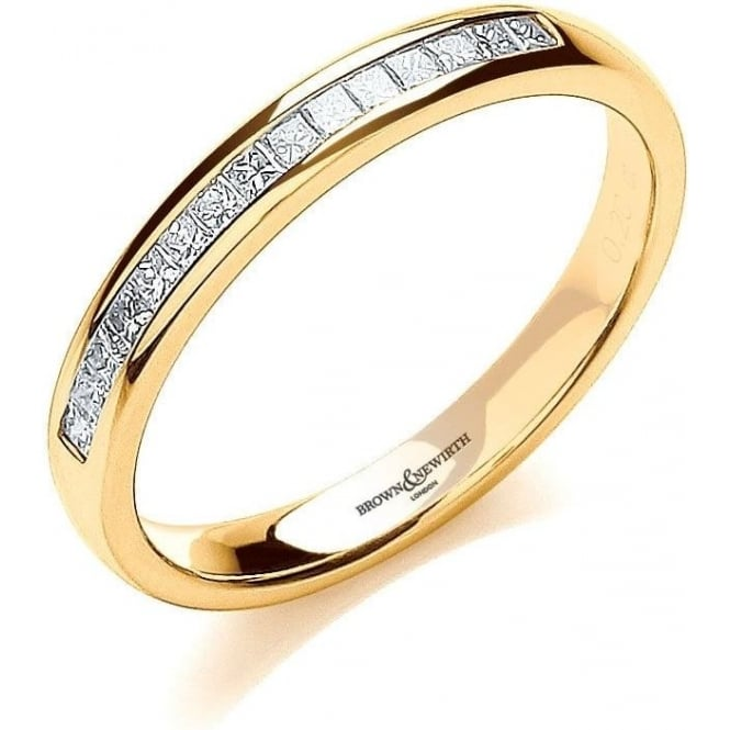 Brown & Newirth Catalogue Ladies 9ct Yellow Gold 2.8mm Diamond Ring