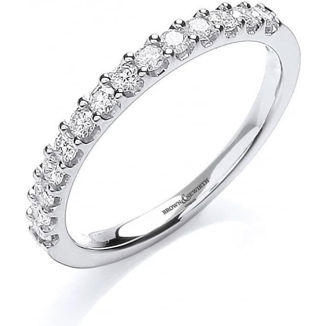 Brown & Newirth Catalogue Ladies 18ct White Gold Diamond Set Ring