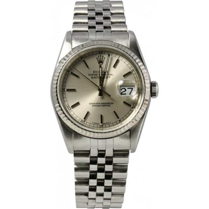 Pre-Owned Rolex Men's Oyster Perpetual DateJust Watch 16234