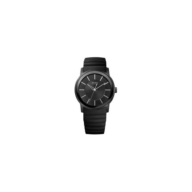 Hugo Boss Mens Black Stainless Steel Watch 1512742
