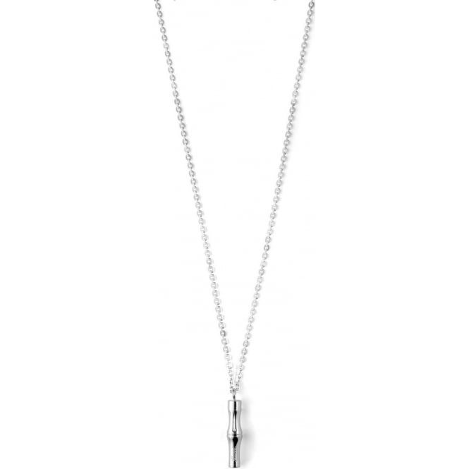 fcd134a14ee8 Gucci Silver Bamboo Necklace Ybb272644001 Market Cross Jewellers