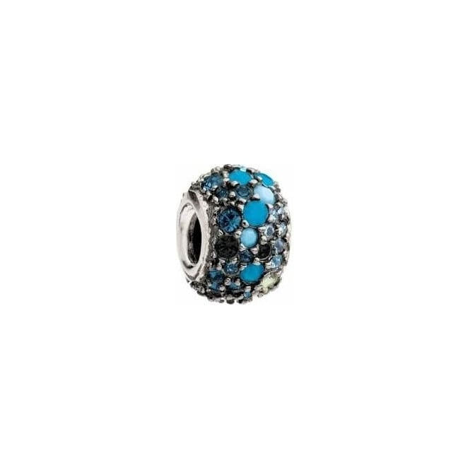 Chamilia Jewelled Kaleidoscope Blue & Black JC-6F