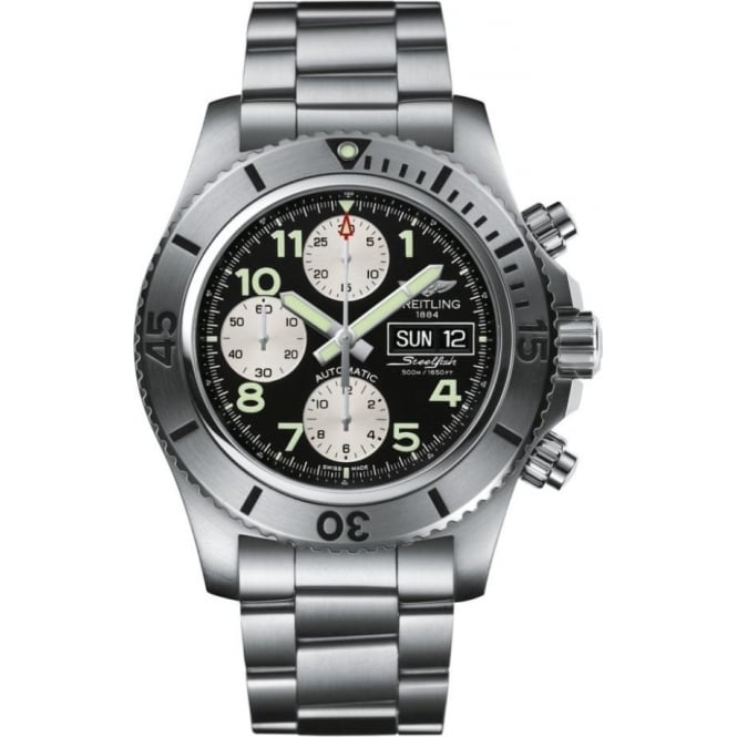 Breitling Mens Superocean Chronograph Steelfish - A13341C3/BD19