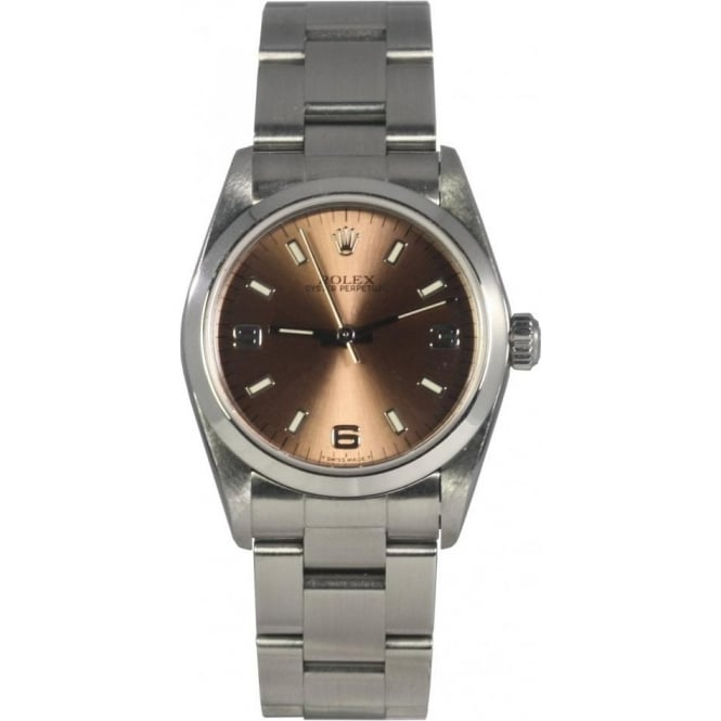 Pre-Owned Rolex Mid Size Oyster Perpetual Watch. 67480