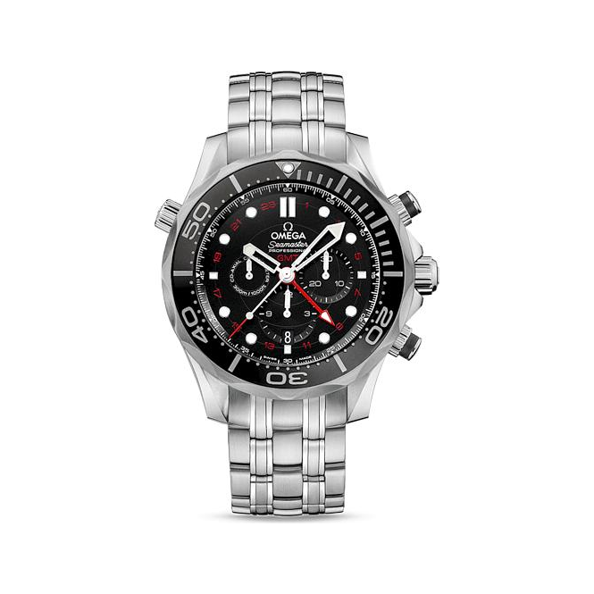 Omega Diver 300 M Co Axial Gmt Chronograph 44mm 212 30 44