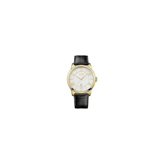 Hugo Boss Mens PVD Gold Plated Watch 1512972
