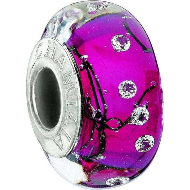 Chamilia City Lights Collection Fuchsia Charm 2116-0076
