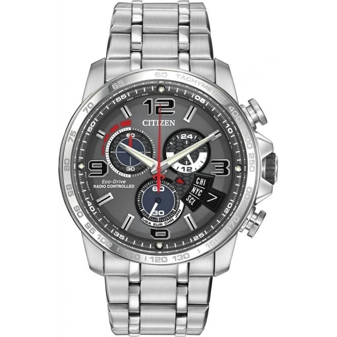 Citizen Mens Chrono Time A-T Watch BY0100-51H
