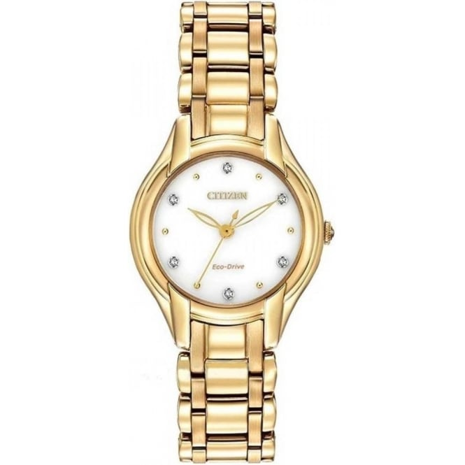 Citizen Ladies Eco-Drive Diamond Watch EM0282-56A