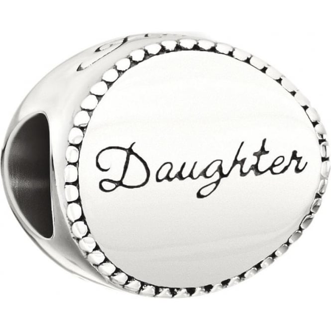 Chamilia Family Disc Bead - Daughter 2010-3229