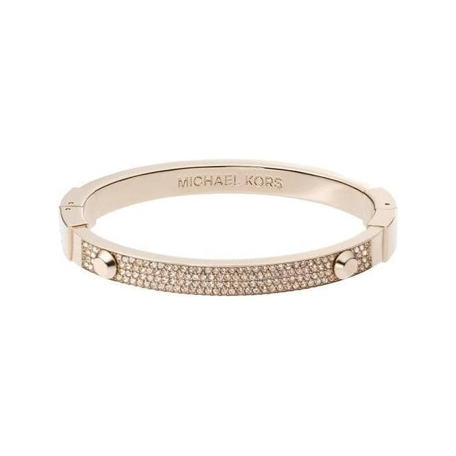 Michael Kors Jewellery Rose Gold Astor Bangle