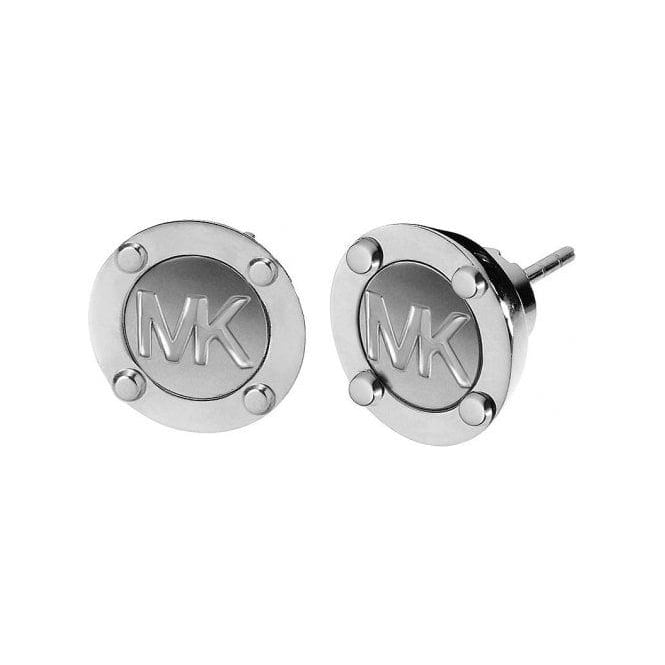 Michael Kors Jewellery Logo Stud Earrings