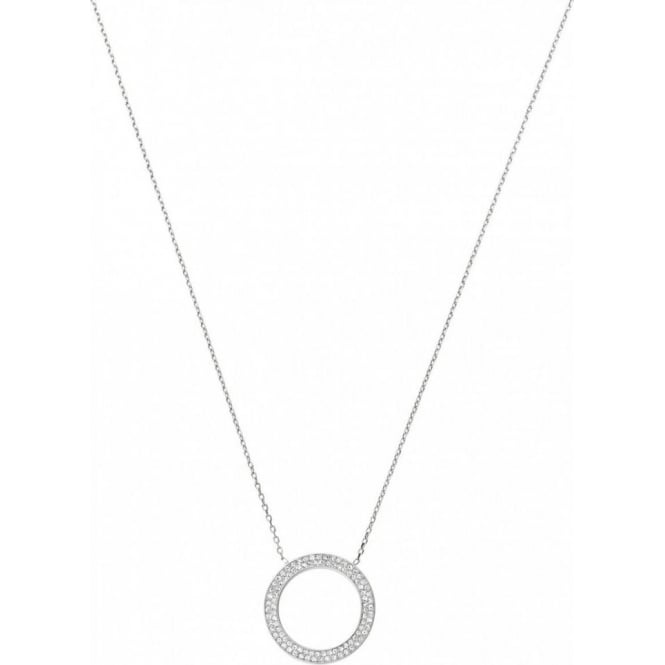 Michael Kors Jewellery Pave Circle Necklace