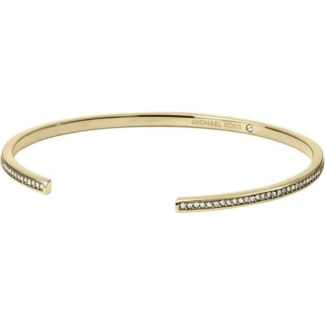 Michael Kors Jewellery Bar Motif Open Cuff Bangle