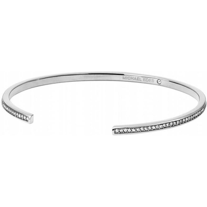 Michael Kors Jewellery Motif Open Cuff Bangle