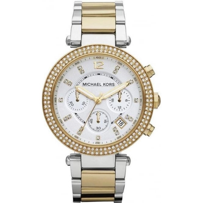 Michael Kors Ladies Bi Colour Parker Watch MK5626
