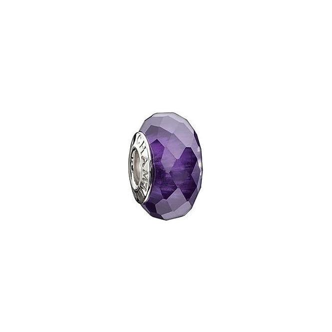 Chamilia Jewelled Collection Purple Charm O-156