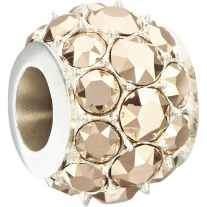 Chamilia Splendor - Metallic Rose Gold Swarovski Bead 2025-1272