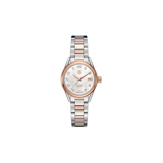 Tag Heuer Carrera Rose-Gold Automatic Ladies Watch WAR2452.BD0772